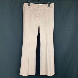 The Limited Beige/Pink Classic Fit Pants. Size 8.